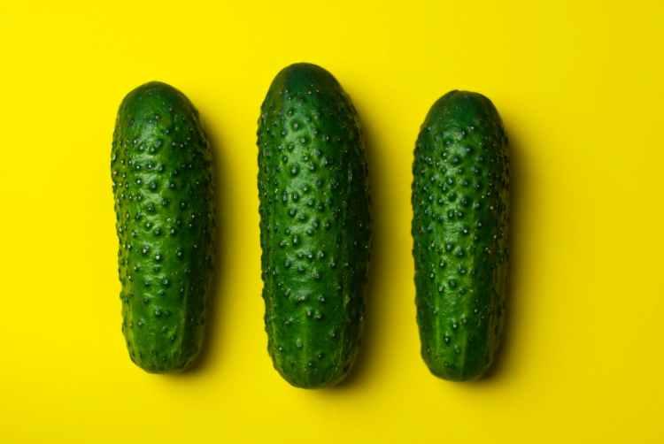 food vegetables cucumbers gherkins